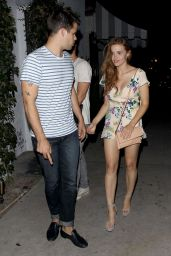 Holland Roden Leaving Zelda Williams Birthday Party in Hollywood, August 2015