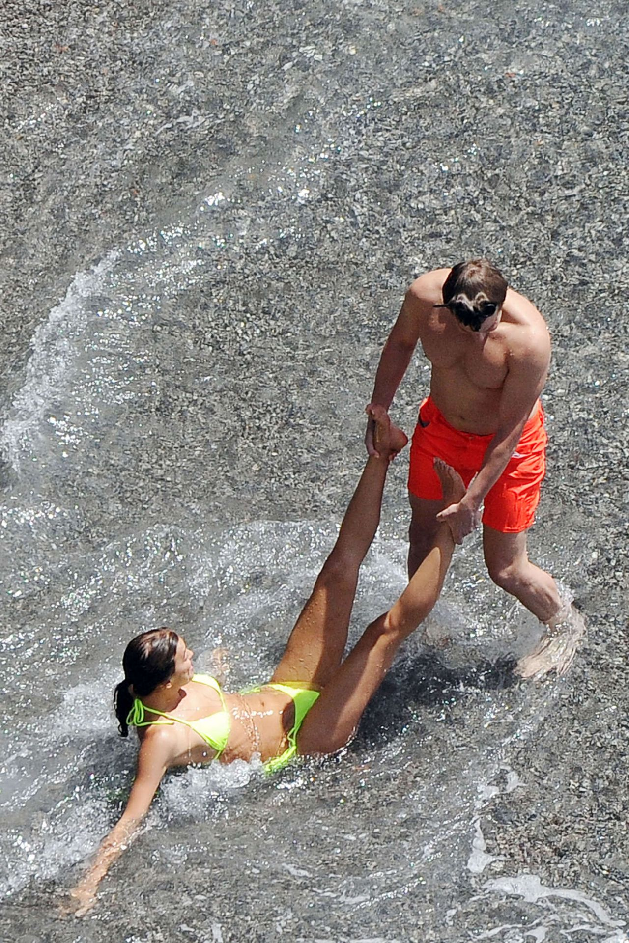 Irina Shayk with Bradley Cooper on Vacation in Amalfi ...