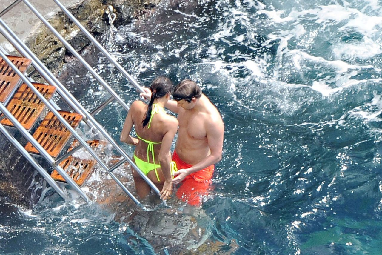 Irina Shayk With Bradley Cooper On Vacation In Amalfi