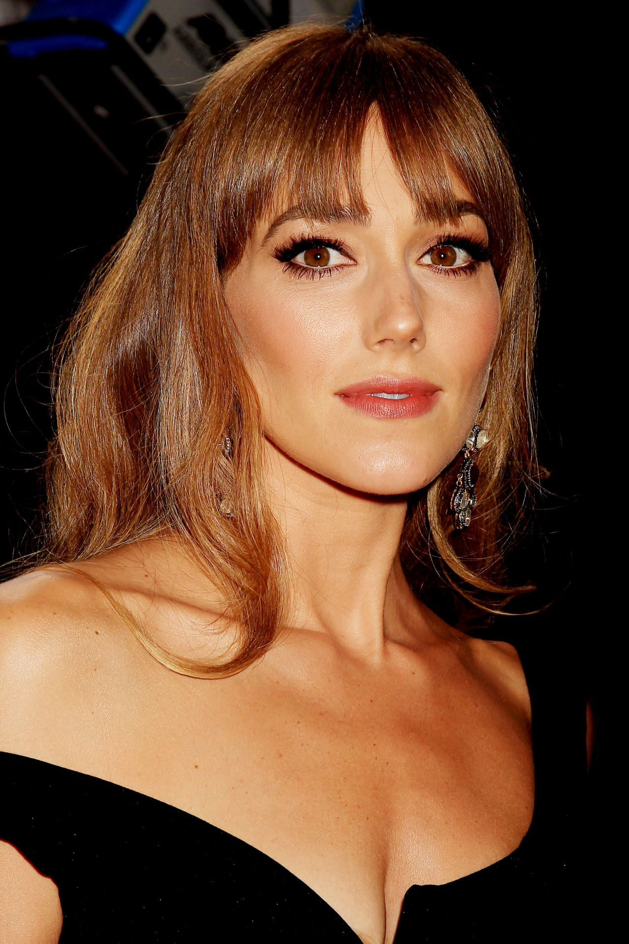 Jacqui Ainsley The Man From U N C L E Premiere In New