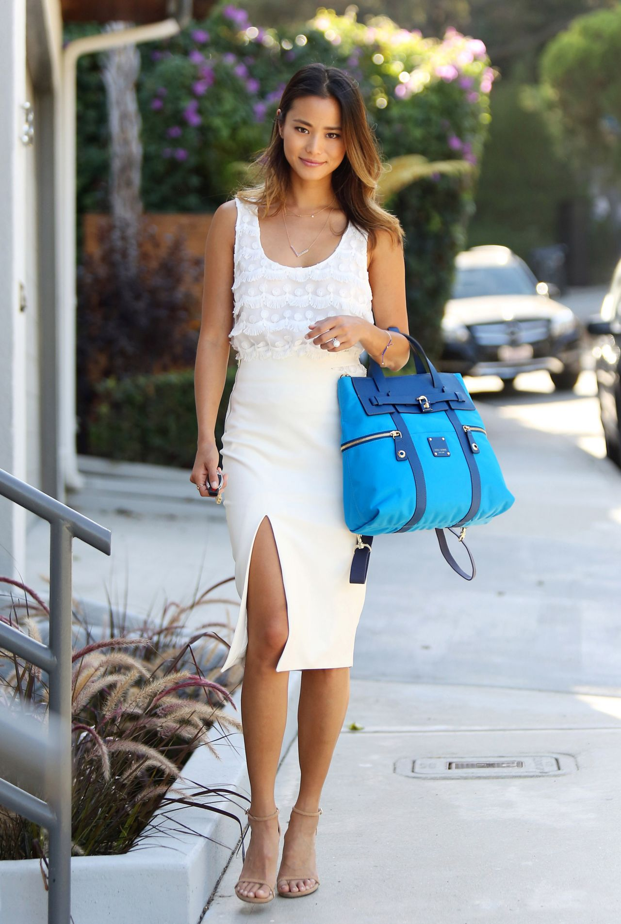 Jamie Chung Casual Style Out In Los Angeles August 2015