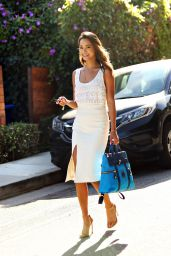 Jamie Chung Casual Style - Out in Los Angeles, August 2015