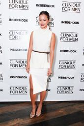 Jamie Chung Style - at Clinique for Men Event in San Francisco, July 2015