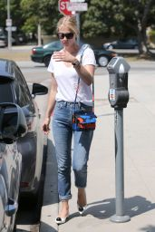 January Jones Booty in Jeans - Out in Beverly Hills, August 2015