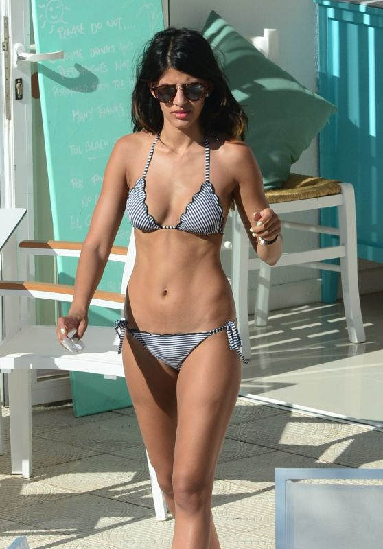 Jasmin Walia Hot in a Bikini in Ibiza, August 2015