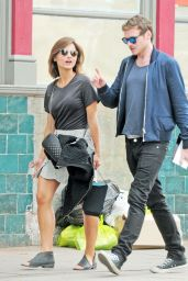 Jenna Louise Coleman - Out in North London, August 2015