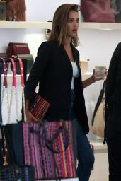 Jessica Alba in Jeans - Shopping at the Rebecca Minkoff Store in Hollywood, August 2015