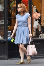 Jessica Chastain - Out in Manhattan, August 2015
