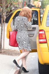 Jessica Chastain Out in New York City, August 2015