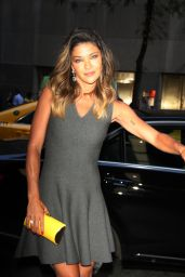 Jessica Szohr Style - Out in NYC, August 2015