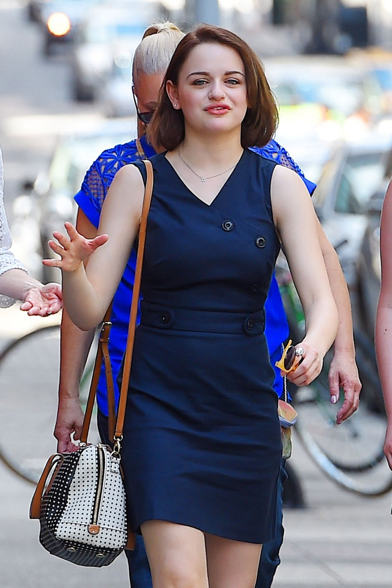 Joey King Style Out In Nyc August 2015