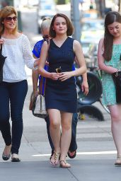 Joey King Style - Out in NYC, August 2015