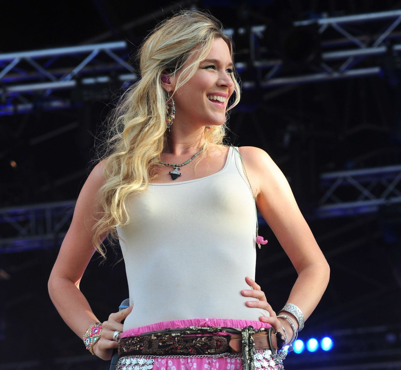 Joss Stone Performing At Carfest North In Cheshire