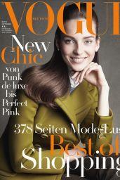 Julia Bergshoeff - Vogue Magazine Germany September 2015 Cover