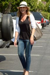 Julie Benz at Bristol Farms in Beverly Hills, August 2015