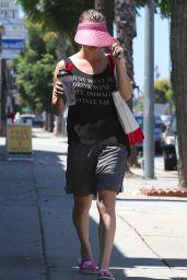 Kaley Cuoco Leaving a Yoga Class - Sherman Oaks, August 2015