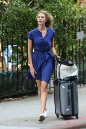 Karlie Kloss Summer Style - Out in New York City, August 2015