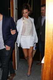 Kate Beckinsale Style -Leaving The Nice Guy in West Hollywood, August 2015