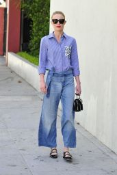 Kate Bosworth Casual Style - Out in Beverly Hills, August 2015