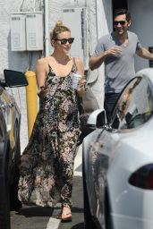 Kate Hudson - Leaving a Spa in West Hollywood, August 2015