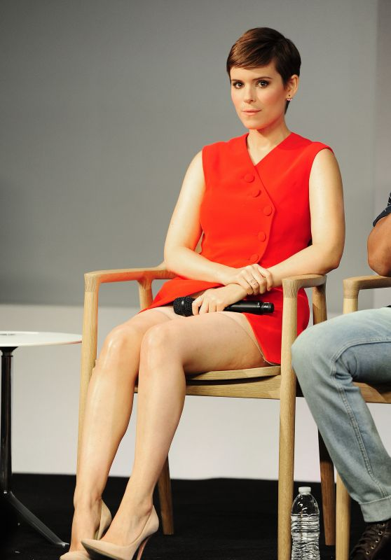 Kate Mara – Apple Store Meet The Actors: 'Fantastic Four' in New York City