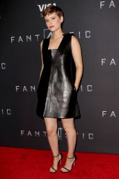 Kate Mara - Fantastic Four Premiere in New York CIty