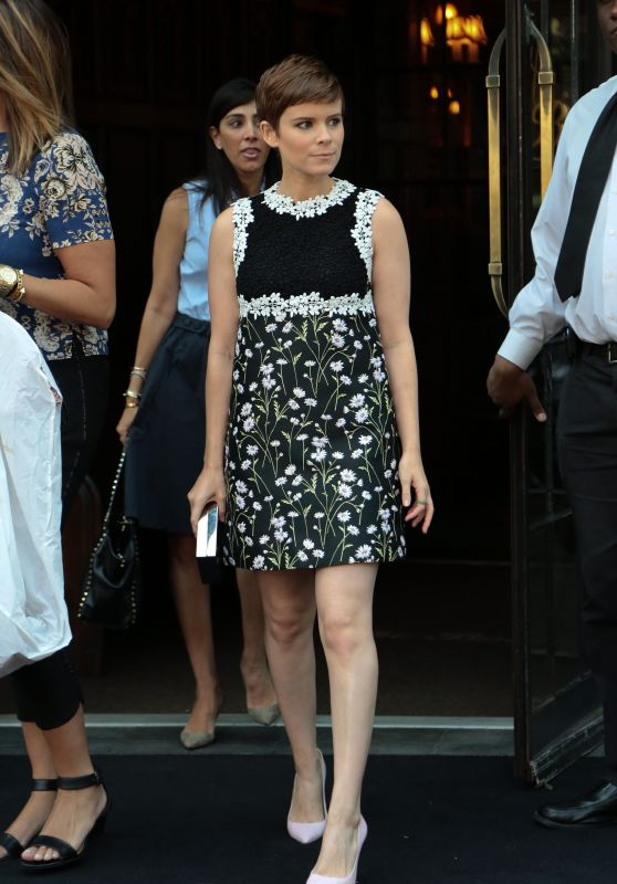 Kate Mara Leaving a Hotel in New York City, August 2015