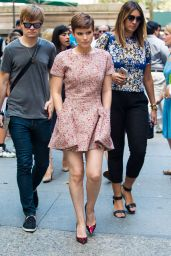 Kate Mara Style - Out in New York City, August 2015