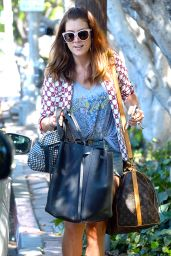 Kate Walsh Street Style - Out in Los Angeles, August 2015