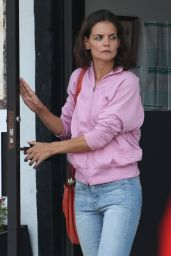 Katie Holmes - All We Had Set in NYC, August 2015