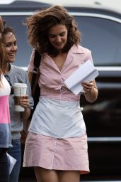 Katie Holmes - All We Had Set Photos - NYC, August 2015