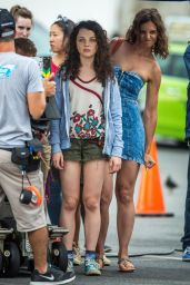 Katie Holmes on the Set of All We Had in New York City