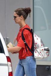 Katie Holmes Street Style - Out in New York City, August 2015