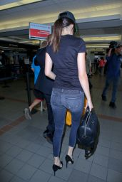 Kendall Jenner Airport Style - at LAX, August 2015
