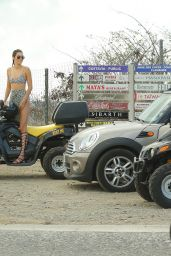 Kendall Jenner and Khloe Kardashian Riding ATV