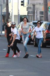 Kendall Jenner Booty in Tight Ripped Jeans - Out in Beverly Hills, August 2015