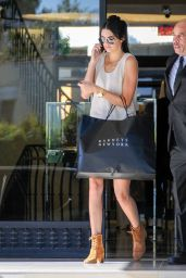 Kendall Jenner – Leaving Barney's New York in Los Angeles, August 2015
