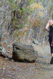 Khloe, Kourtney & Kim Kardashian - Workout in St. Barts, August 2015