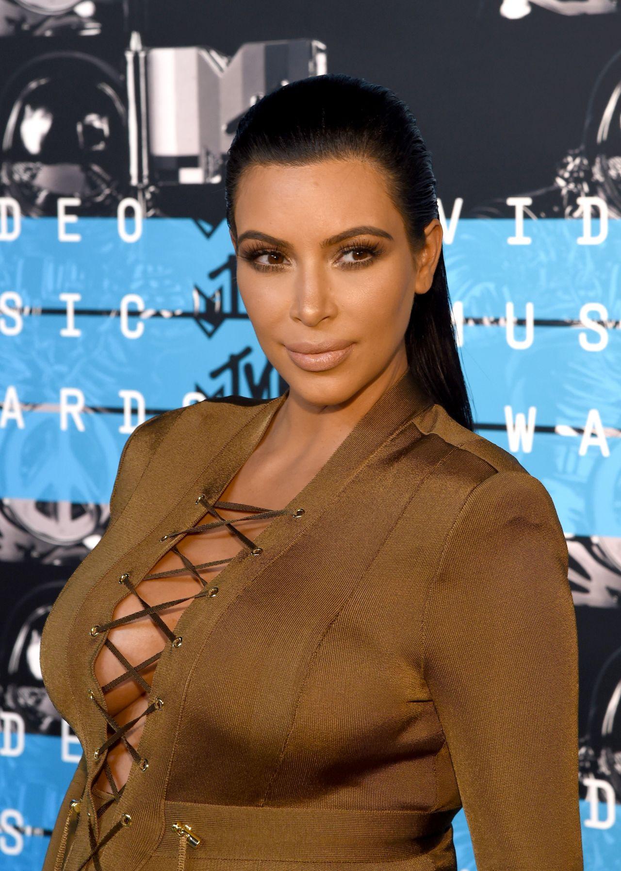 Kim Kardashian U2013 2015 MTV Video Music Awards At Microsoft