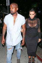 Kim Kardashian Leaves Kylie Jenner