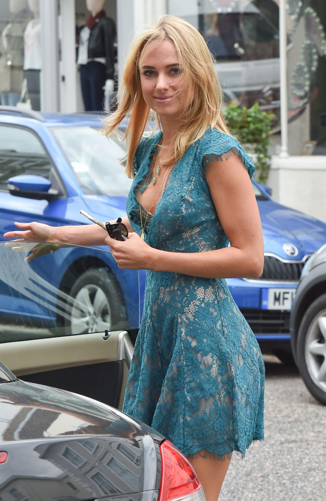 Kimberley Garner Leggy Out In London August 2015