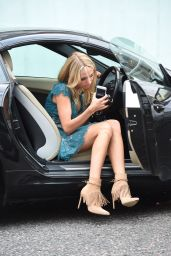 Kimberley Garner Leggy - Out in London, August 2015