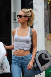 Kimberley Garner Street Style - Out in London, August 2015