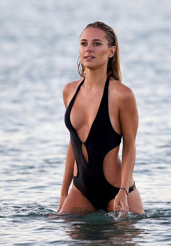 Kimberley Garner Swimsuit Photos in St Tropez, August 2015