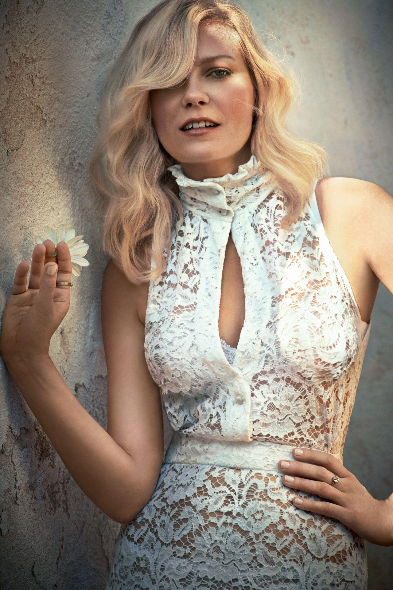 Kirsten Dunst - Town & Country Magazine September 2015
