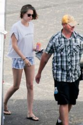 Kristen Stewart - New Woody Allen Movie Set in LA, August 2015