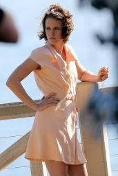 Kristen Stewart - New Woody Allen Movie SEt Photos, August 2015