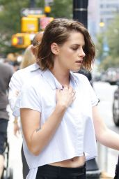 Kristen Stewart - Out in NYC, August 2015