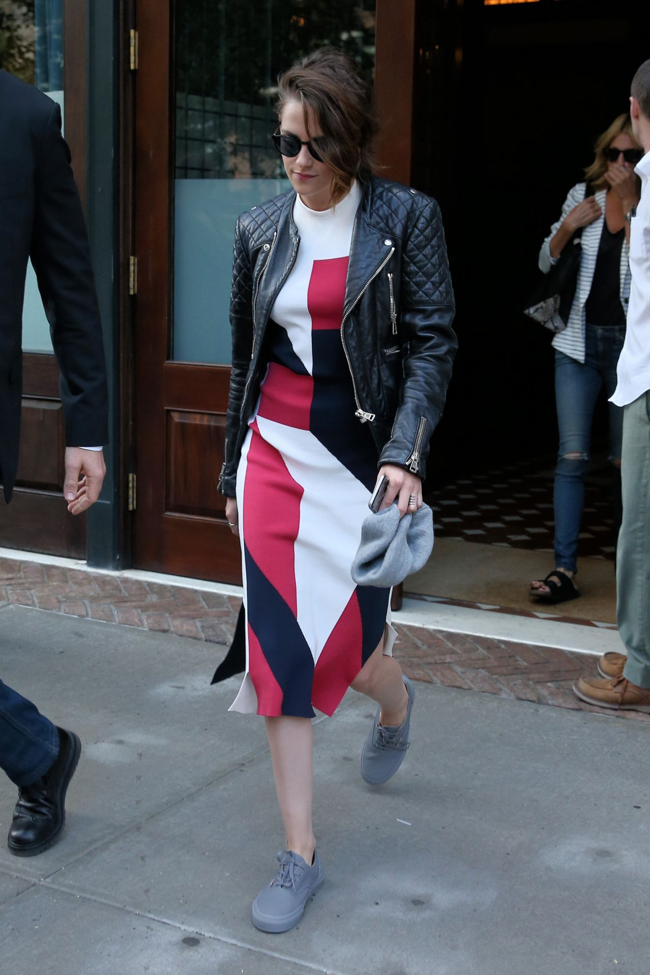 Kristen Stewart Style Out In Nyc August 2015