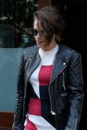 Kristen Stewart Style - Out in NYC, August 2015